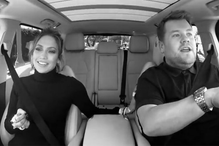 Carpool Karaoke with Jennifer Lopez