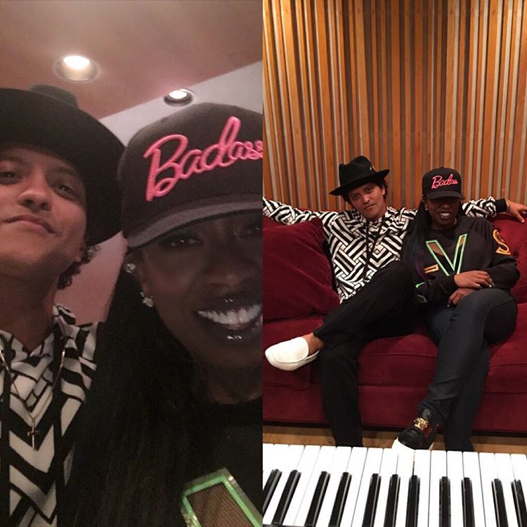 bruno mars and missy elliot pop music artists